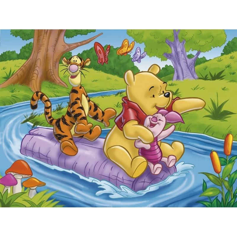 Clementoni puzzle winnie l 39 ourson la rivi re 60 pi ces - Jeux de winnie l ourson gratuit ...