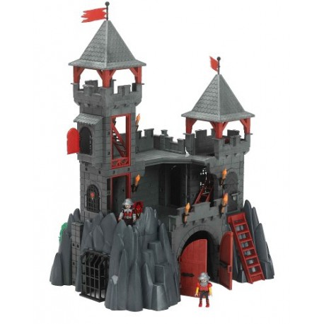 Chevaliers ch teau forteresse du dragon playmobil for Plan chateau fort playmobil