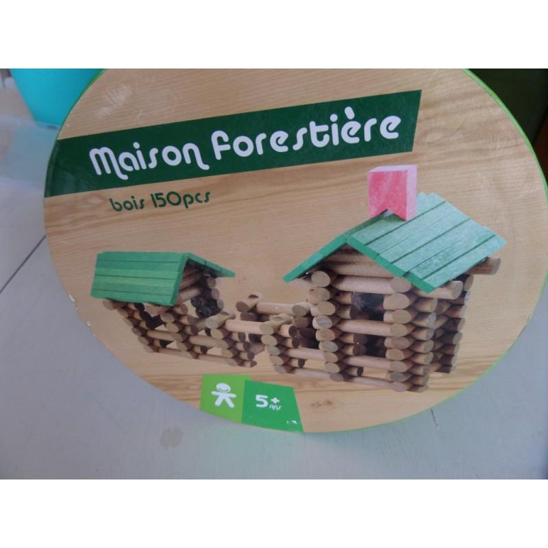 Maison foresti re construire jouet en bois 150 pi ces - Construire des jouets en bois gratuit ...