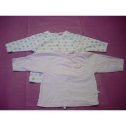 Lot de 2 tee-shirts Les Petits Babies 1 mois