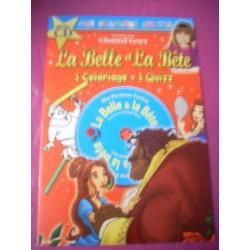 Neuf ! La belle et la bête (livre + CD + coloriage)