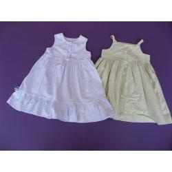 Lot de 2 robes d'été 18 mois