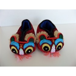 Neuf ! Chaussons-Ballerines chinois pointure 21