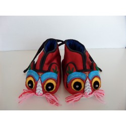 Neuf ! Chaussons-Ballerines chinois Souris pointure 21