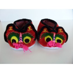 Neuf ! Chaussons-Ballerines chinois Souris pointure 19