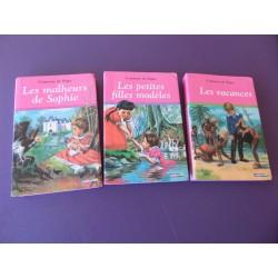 3 Tomes de La Comtesse de Segur