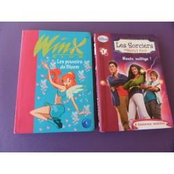 2 Tomes Les Sorcières de Waverly Place I + Winx