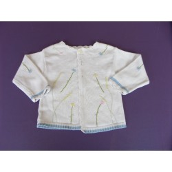 Gilet maille Baby Club 24 mois