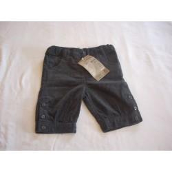 Neuf ! Pantalon velours anthracite  18 mois