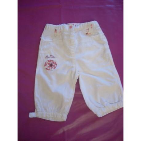 """Pantalon lin & coton """"ILa Compagnie des Petits"""" 18 mois"""