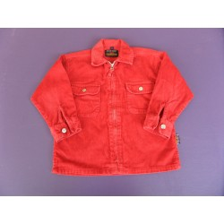 Blouson velours rouge Best Way 4 ans