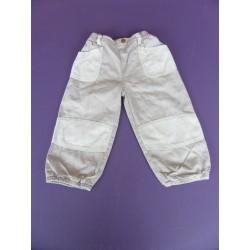 Pantalon toile doublé Kimbaloo 2 ans