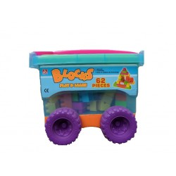 Chariot de construction Blocks Play and Learn