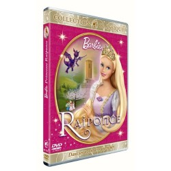 dvd Barbie princesse Raiponce