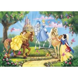 Puzzle Classique 3x48 pièces Princesse de Clementoni