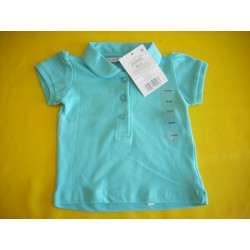 Neuf ! Polo turquoise fille 1 an