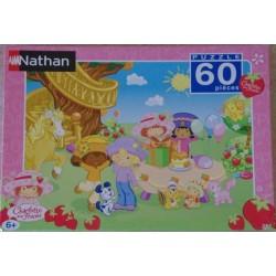 Puzzle 60 pièces charlotte aux fraises de Nathan