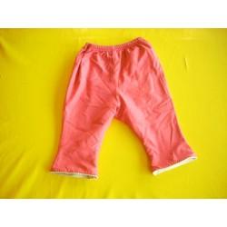Pantalon molletonné fille 1 an