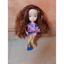 Grande poupée mannequin guitariste