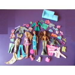 Lot de 3 poupées Bratz