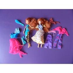 Lot Poupées Mannequins Winx