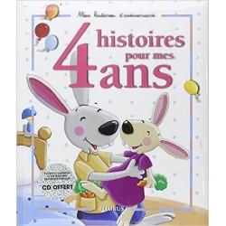 Histoires pour mes 4 ans, 1 livre et 1 cd