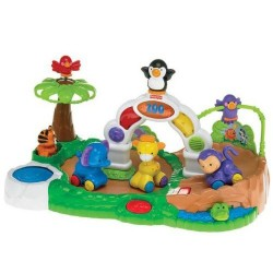 Fisher-Price Amazing Animals Spinnin Around Musical Zoo