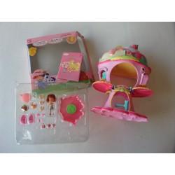 Charlotte aux fraises Maison, poupée et accessoires