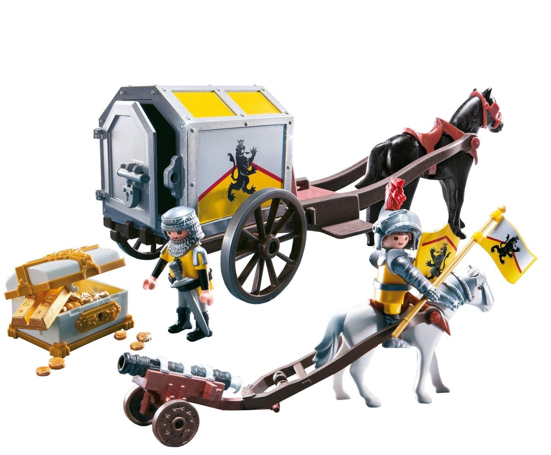 convoi et trsor des chevaliers du lion de playmobil jeu de construction caillou flacoti - Playmobile Chevalier