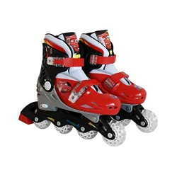 CARS, rollers Ajustable, Cars 2, Stamp, Taille 34-37