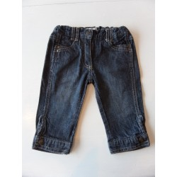 Pantacourt denim fille 2 ans