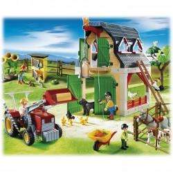 Grand Fort des Soldats Américains de Playmobil, Jeu de Construction