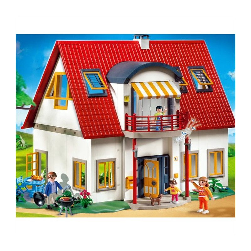 Playmobil 4279 jeu de construction villa moderne for Construction villa moderne