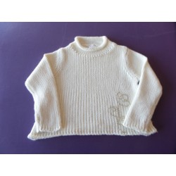 Pull grosse maille fille 4 ans