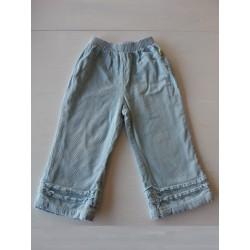 Pantalon velours AKR Baby fille 2 ans