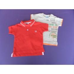 Lot Tee-shirt-polo 1 an