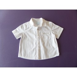 Chemise blanche Obabi 18 mois