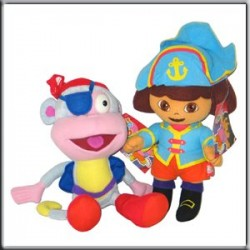 Gosh - Peluche Dora Pirate