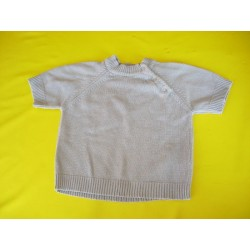 Pull manches courtes fille 3A