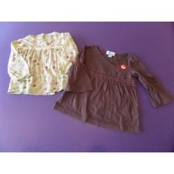 Lot de blouses fille 2 ans