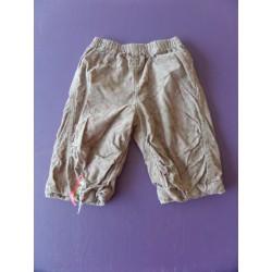 Pantalon velours doublé 6 mois