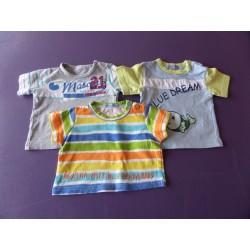 Lot de tee-shirts avec Agatha Ruiz de la Prada 6 mois