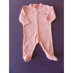 Pyjama coton côtelé 1 mois