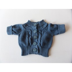 Cardigan manches courtes fille 18 mois