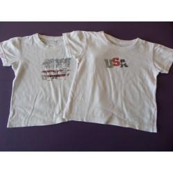 Lot t.shirts USA 4-5 ans