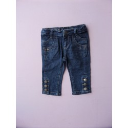 Pantacourt denim Lisa Rose fille 2 ans