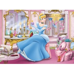 puzzle - 45 Pieces - Disney Princess : The Beautiful Cinderella by Nathan