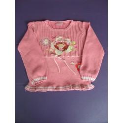 Pull maille coton Charlotte aux Fraises 6 ans