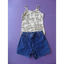 Ensemble short denim fille 14 ans