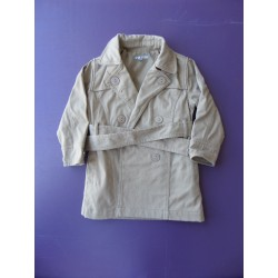 Trench Vynil Fraise fille 3 ans